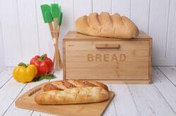 Чтобы хлеб долго оставался свежим в хлебнице