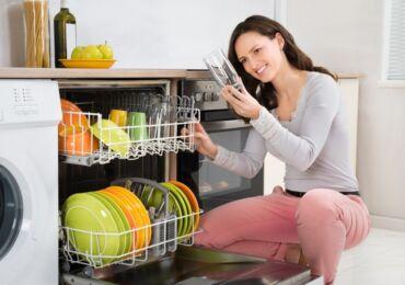 Как работает посудомойка
