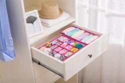 Как хранить носки в шкафу