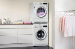 Установка сушильной машины на стиральную машину
