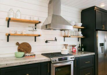 Каминная вытяжка для кухни