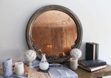 Как состарить зеркало в домашних условиях