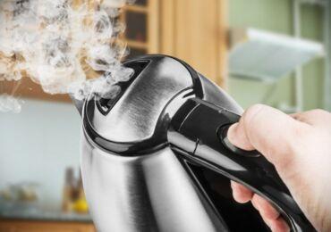 Как убрать запах из электрического чайника