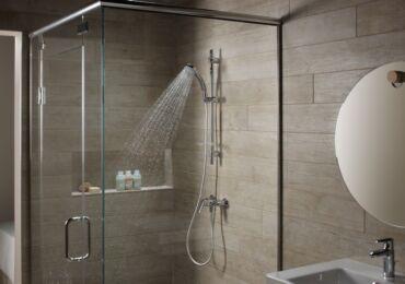 Какой должна быть высота смесителя в душе