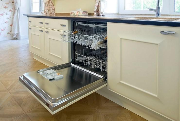 Посудомойка в зависимости от размеров кухни