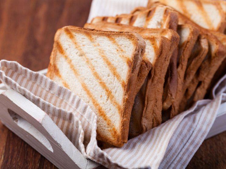 Как сделать тосты без тостера