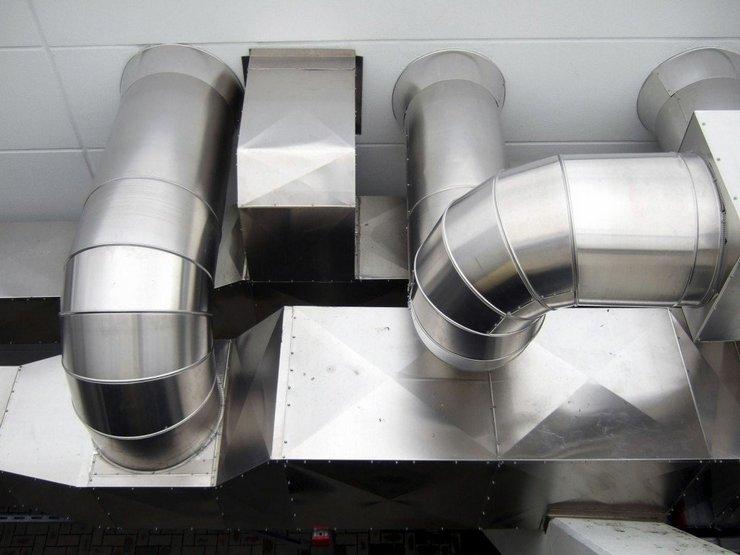 Конструкции вентиляционных систем