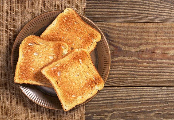 Хлеб из тостера