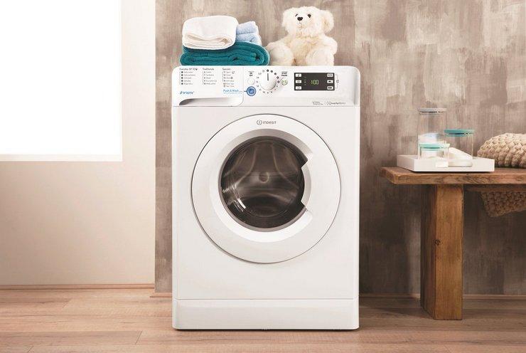 Выставляем стиральную машину по уровню