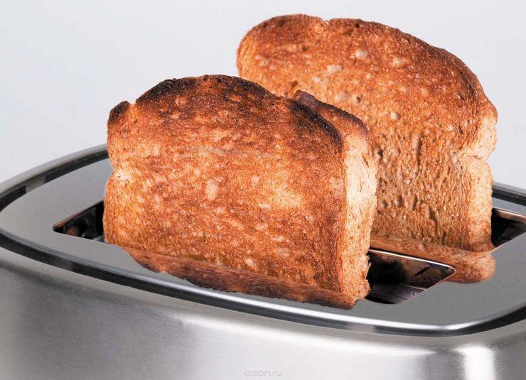 Вред хлеба из тостера