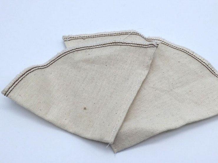Кофейный фильтр из ткани