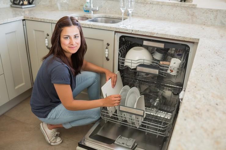 Разновидности встраиваемых посудомоек по их габаритам