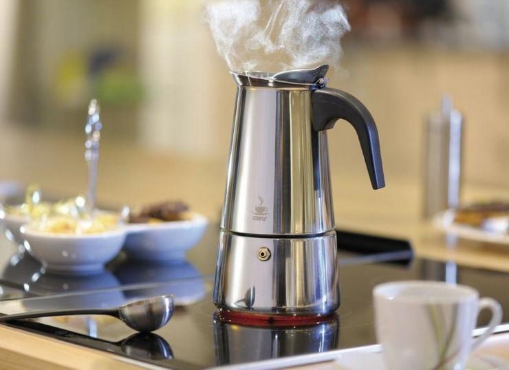 Кофеварки для плиты