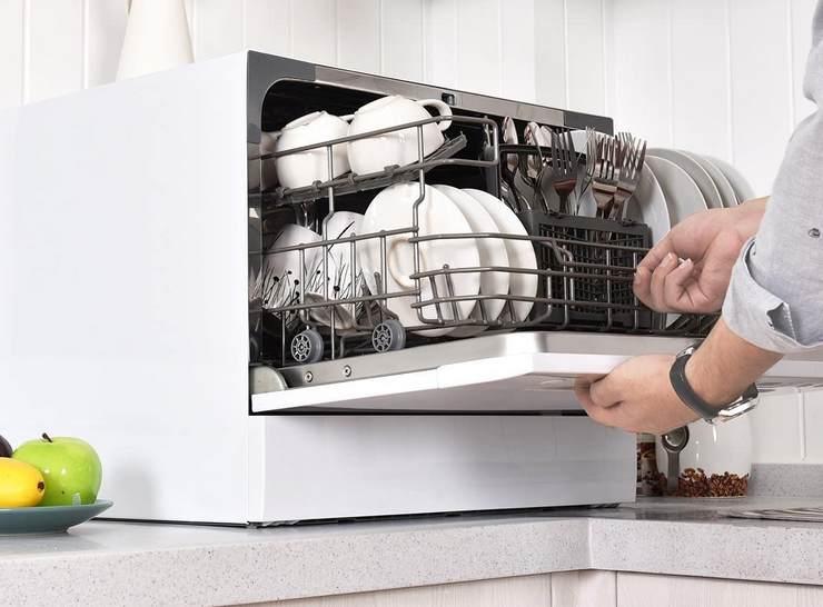 Размеры компактных посудомоечных машин