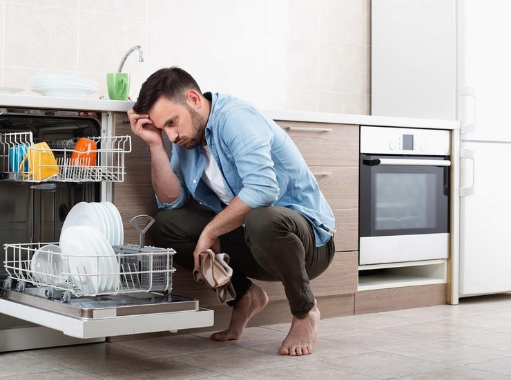 Посудомоечная машина перестала отмывать посуду
