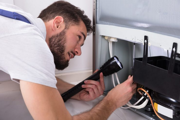 причины работы холодильника без выключения