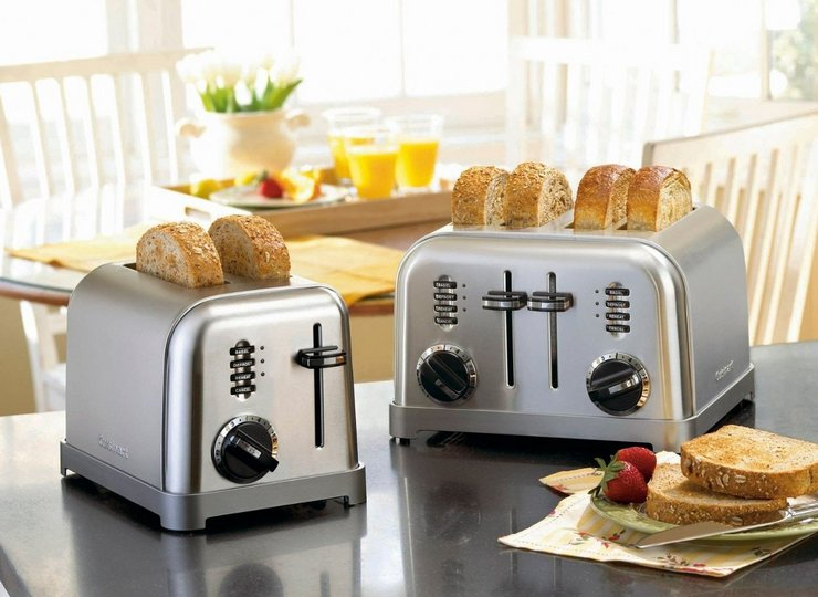 Что лучше тостер или сэндвичница