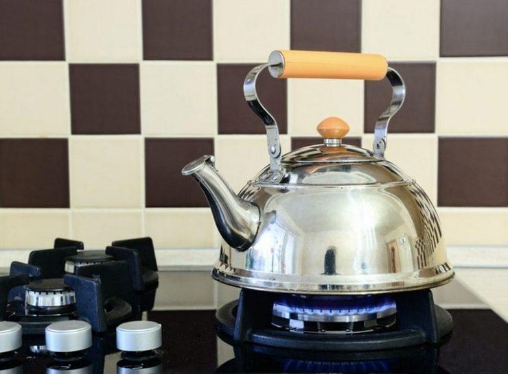 Способы очистки от жира чайника из нержавейки