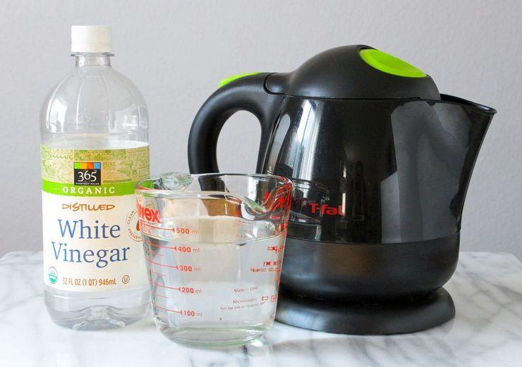 Народные средства очистки жира с поверхности чайника