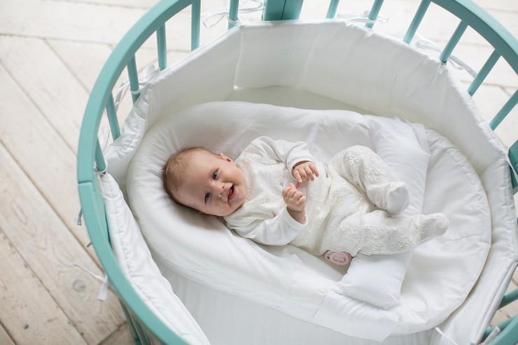 Размер матраса в детскую коляску или колыбель