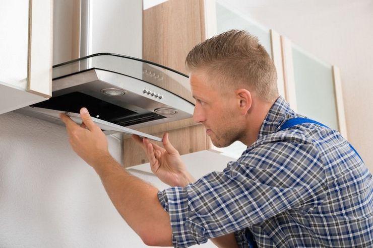 Как отмыть фильтр кухонной вытяжки от жира