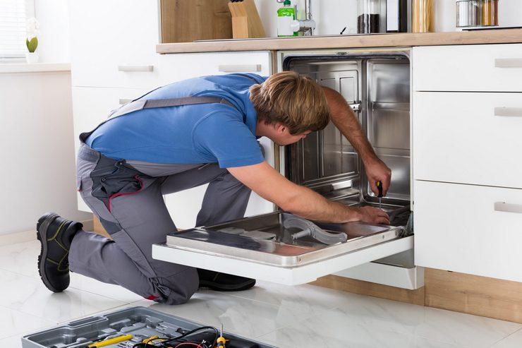 Неисправность блока управления посудомоечной машины