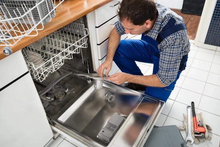 Неисправность посудомойки с конденсационной сушкой