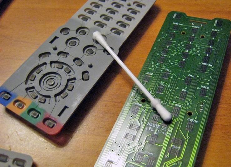 Как починить кнопки на пульте от телевизора