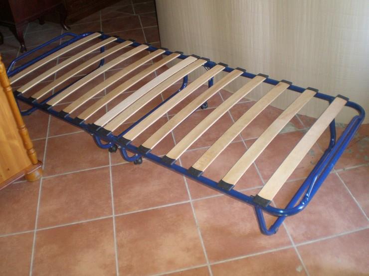Новый лежак из старой раскладушки