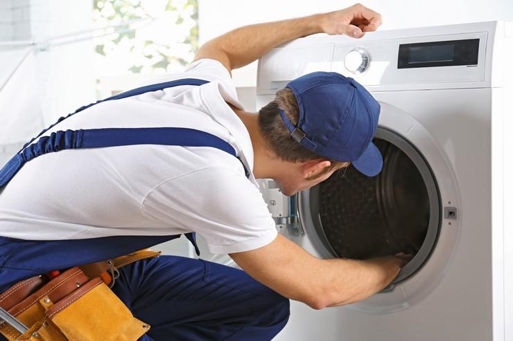 Как установить стиральную машину, чтобы не прыгала