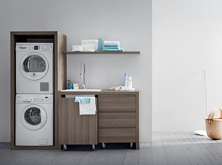 Оптимальное расположение стиральной и сушильной машин