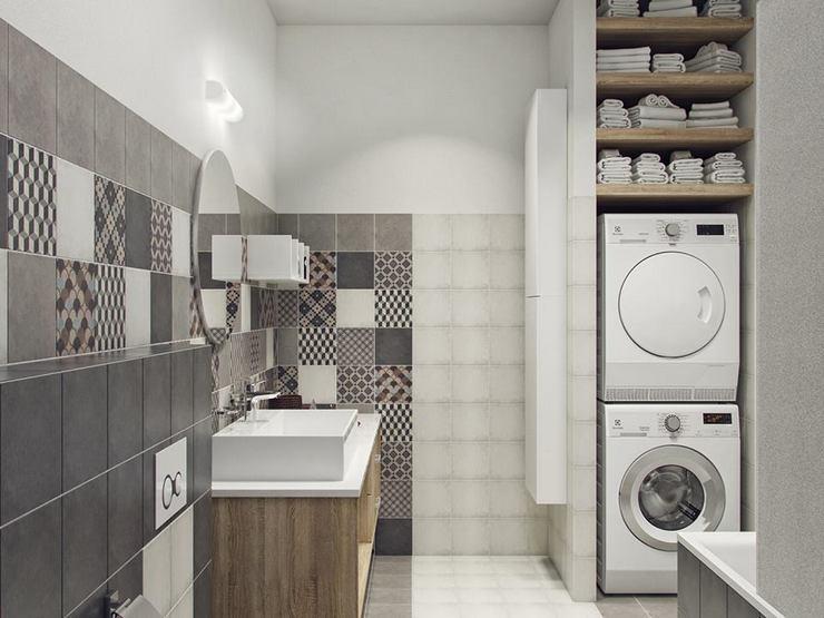 Установка над стиральной машиной