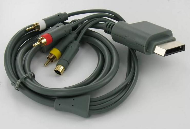 Как подключить Xbox 360 при помощи компонентного кабеля
