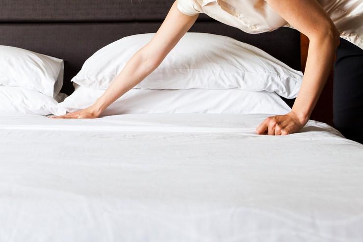 Заправляем постель красиво
