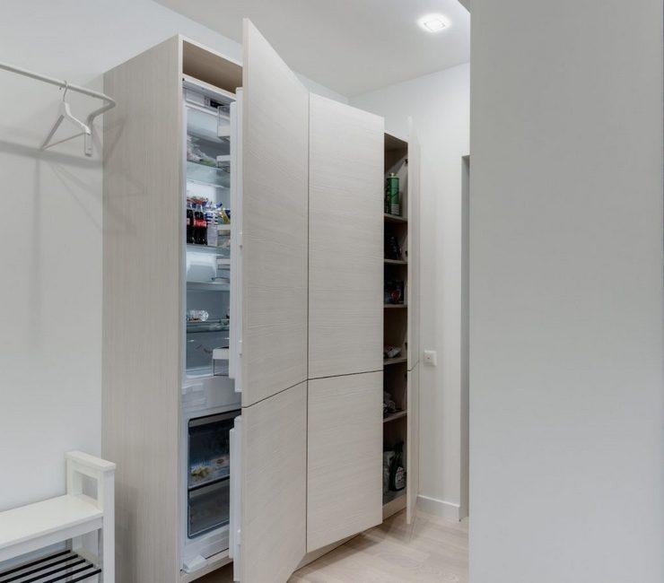 Виды встраиваемых холодильников