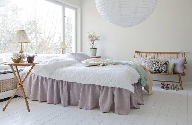 Где установить двуспальную кровать