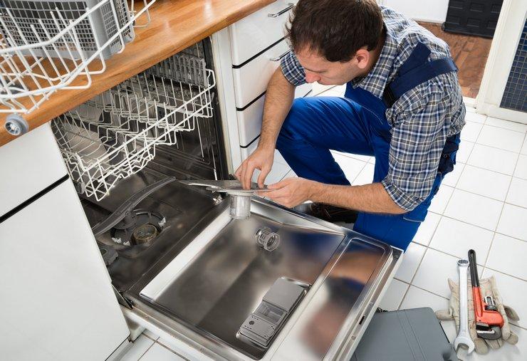 Посудомойка не сливает воду