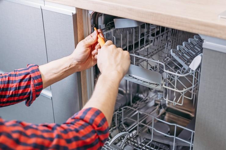 Как подсоединить посудомойку к электросети