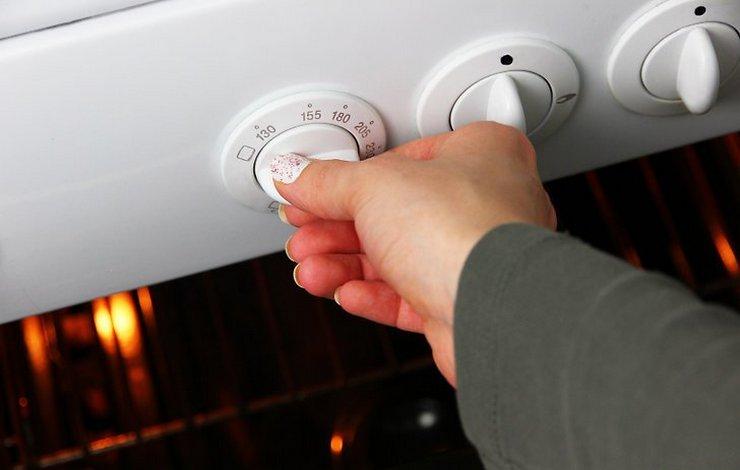 Общий принцип включения духовки в газовой плите