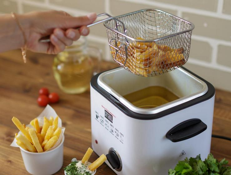 Как отмыть фритюрницу от масла