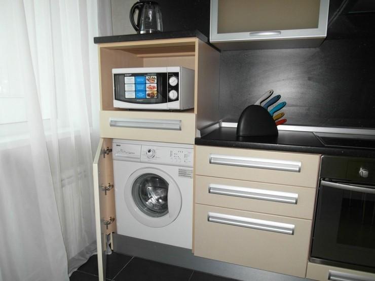 Как правильно совместить стиралку и микроволновку