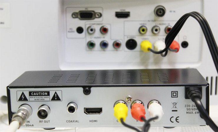 Инструкция подключения кабельного цифрового телевидения