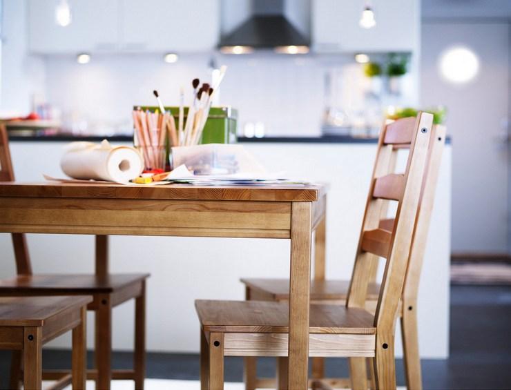 Высота обеденного стола