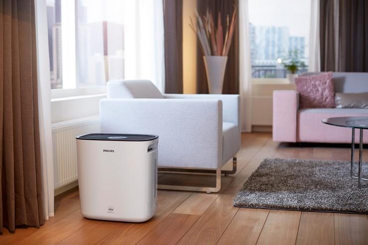 Типы увлажнителей воздуха и их зависимость от площади помещения