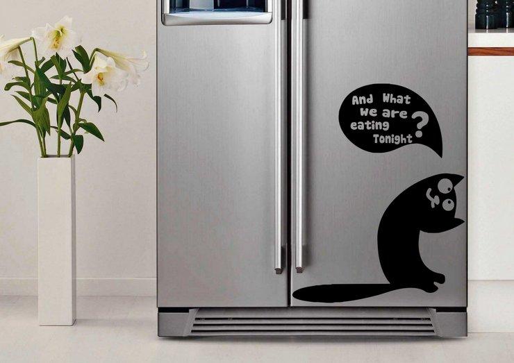 Как убрать наклейки с холодильника