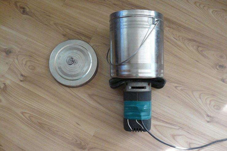 Изготовление механической кофемолки