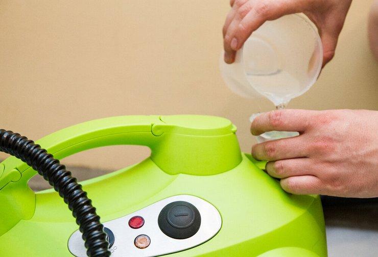 Популярные способы очистки отпаривателя