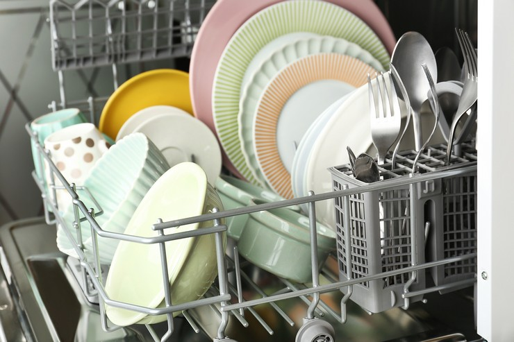 Технология загрузки посудомойки