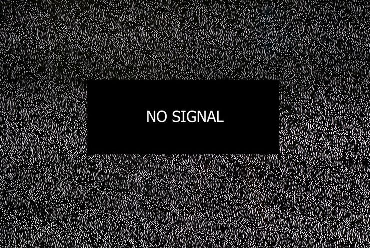 Пропал сигнал тв