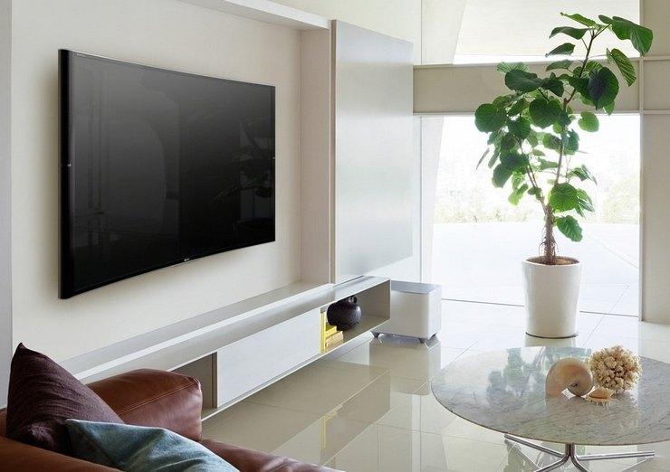 Как правильно закрепить телевизор на стене